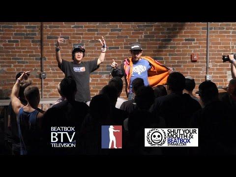 Flashburn vs Johnny Buffalo / Quarter Finals - Midwest Beatbox Battle 2014