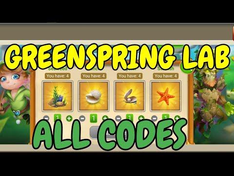 Greenspring Lab #3 L All Codes L Castle Clash