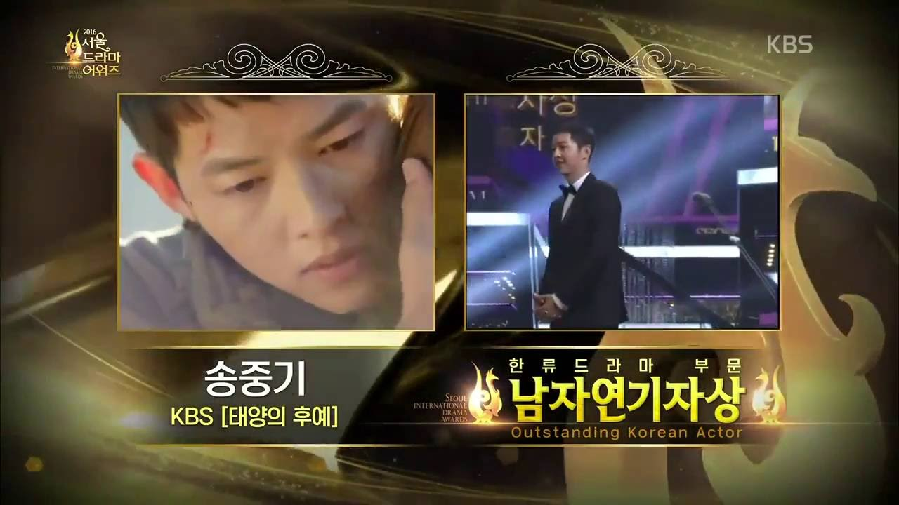 Photo of song joong ki ภาพยนตร์ และ รายการ โทรทัศน์ – Song Joong Ki [ซับไทย] รับรางวัลเเละคิดถึงฮเยคโย @ Seoul International Drama Awards HD VID