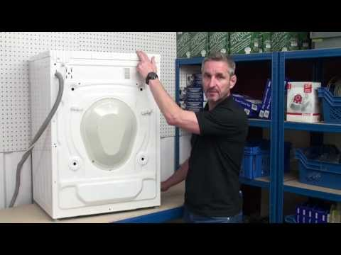 how to replace belt on washer machine