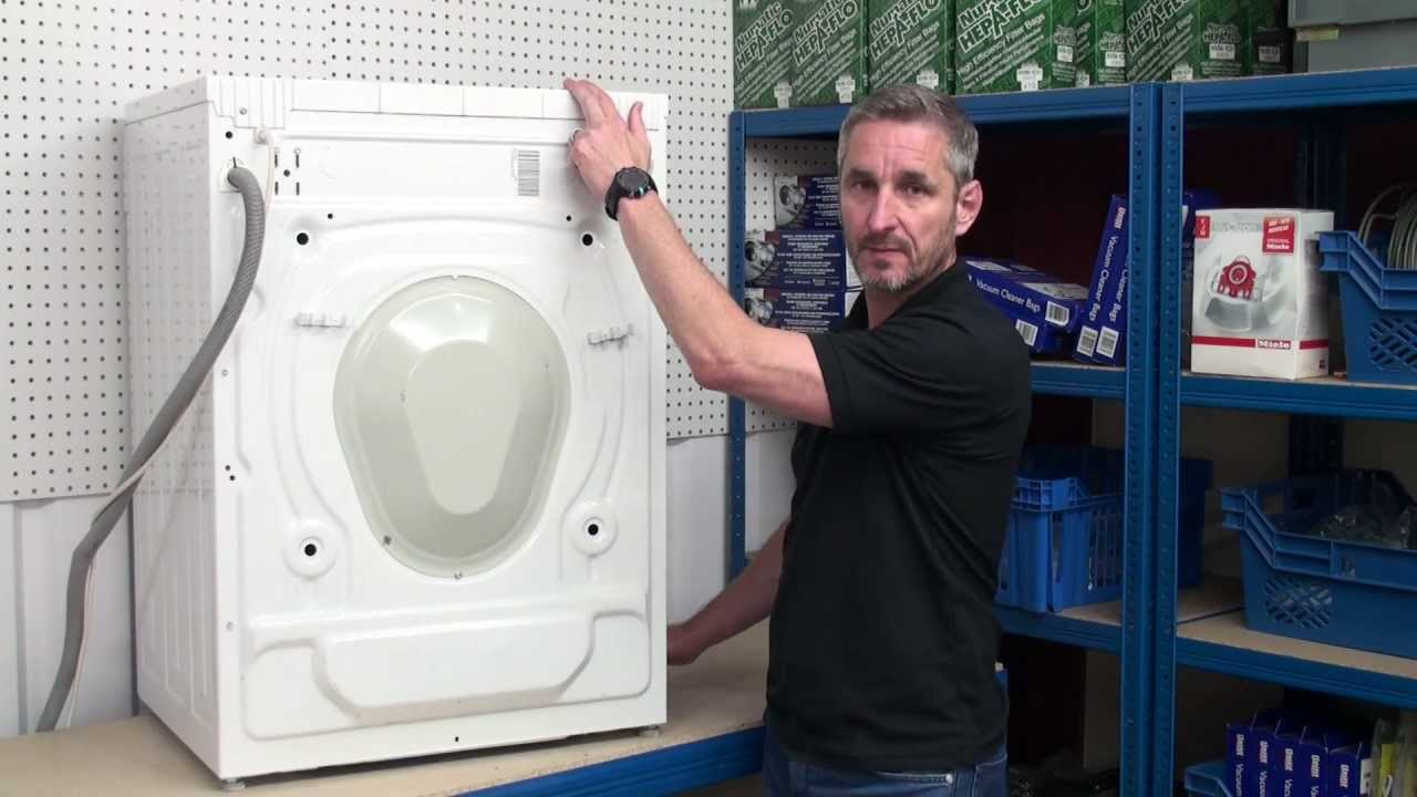 how to replace a washing machine belt youtube. Black Bedroom Furniture Sets. Home Design Ideas