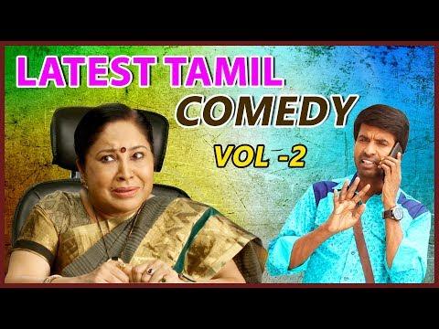 Latest Tamil Comedy Scenes 2018   Vol 2   Kovai Sarala   Soori   Robo Shankar   Karunakaran