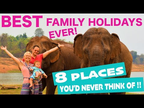 Family Holiday Ideas 2018 | BEST places to travel with family!(Destinations others don't think of!)
