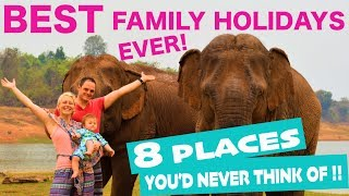 BEST Family Holiday Destinations 2020 | Places to Travel with Family! (ideas others don't think of!)