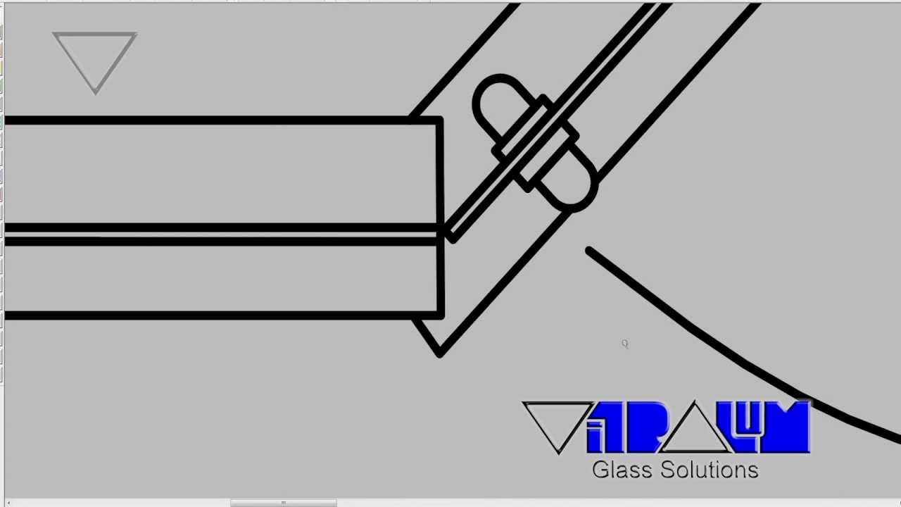 Vitralum Glass Solutions, how to build a Neo angle (135°) frameless ...