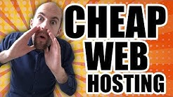 Cheap Web Hosting - Best Cheap Web Hosting For Only $2.50 Per Month With Unlimited Everything