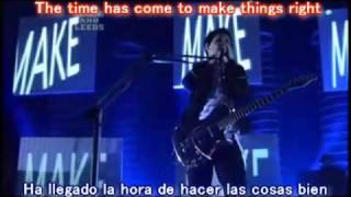 Knights of Cydonia - Muse // Subtitulado Inglés - Español