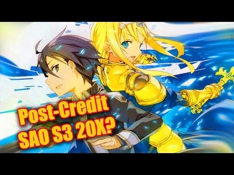 "Post Credit Sword Art Online Season 3 ""SAO will Return""! Sword Art Online Ordinal Scale"