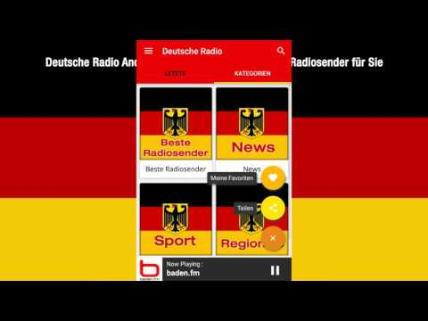 Deutsche Radio Android App Promotional Video