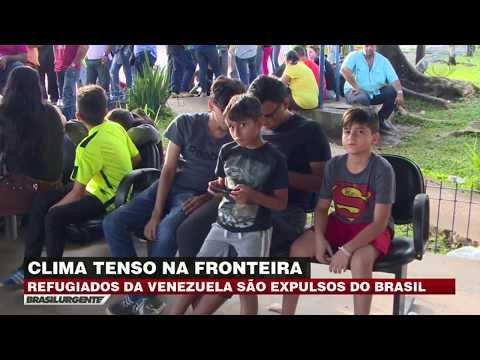 Refugiados venezuelanos são expulsos de Roraima