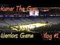 My 1st Warriors game (Vlog #1)