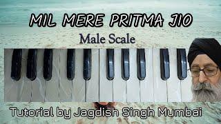 For Advance Students-- MIL MERE PRITMA JIO -- Taal Kehrewa 8 Matra---Tutorial by Jagdish Singh