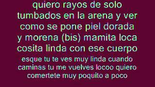 """Letra """"Rayos de Sol""""Jose de Rico feat.Henry Mendez (Official)"""