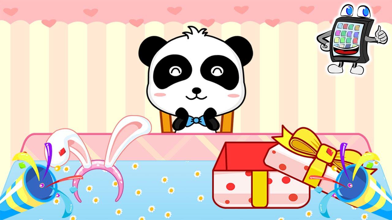 baby panda geburtstagsfeier birthday party deutsch app f r kinder spiel mit mir apps und. Black Bedroom Furniture Sets. Home Design Ideas