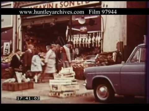 West Midlands UK Shopping, 1960s - Film 97944