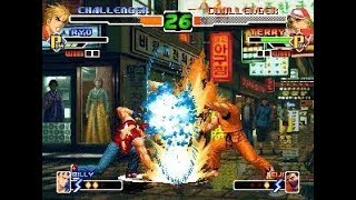 [TAS] Terry VS Ryo (KoF 2000)
