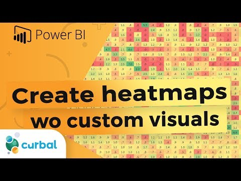 Create Heatmaps Without Custom Visuals In Power BI