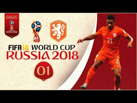 FIFA 18 World Cup - THE NETHERLANDS AT RUSSIA 2018 - GROUP STAGE!! [Legendary With Sliders]