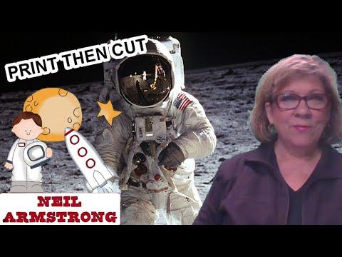 Print Then Cut Apollo 11 For Homeschoolers, Kids, Parents And Grandparents