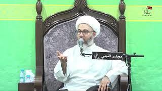 الشيخ مصطفى الموسى - الإمام الحسن المجتبى عليه السلام يرد على معاوية وعمرو بن العاص