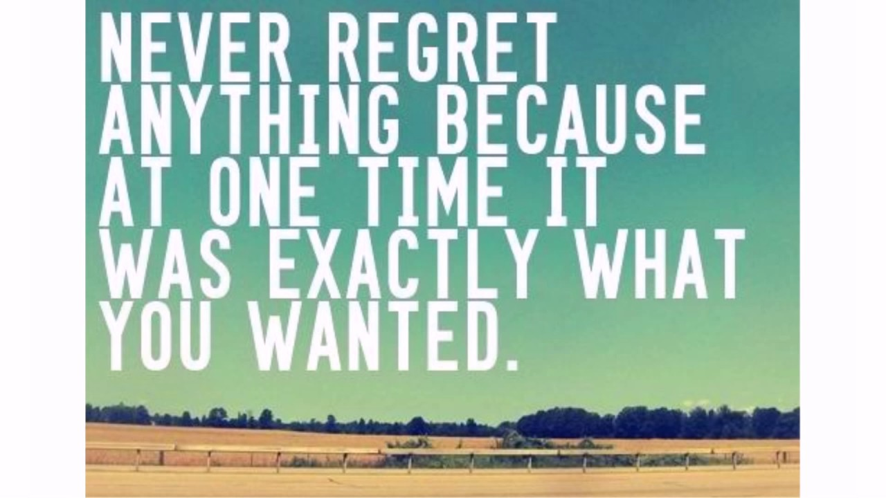 90+ Regret Quotes and Sayings - lovequotesmessages