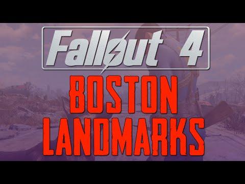 Fallout 4 Boston Landmarks (Trailer Analysis)