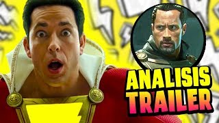 Baixar BLACK ADAM SALDRA EN SHAZAM?!   Shazam Official Trailer ANALISIS