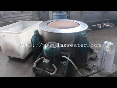Guangzhou leading sweater manufacturer showing  the producing procedure