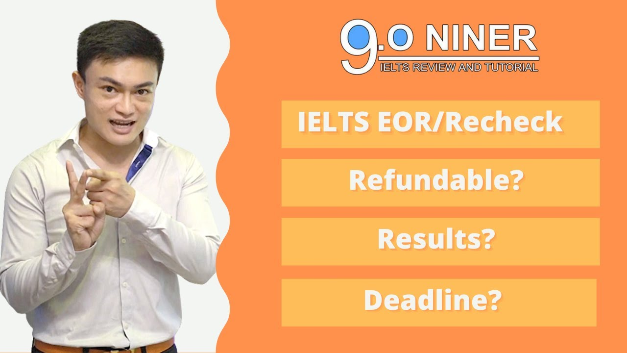 Download IELTS Recheck/Remark/EOR