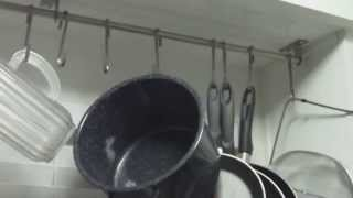 How to Install an IKEA Pot Rack