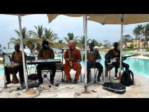 Gambian 5* sheraton Hotel  with Gambian - Guinea Bissau band.