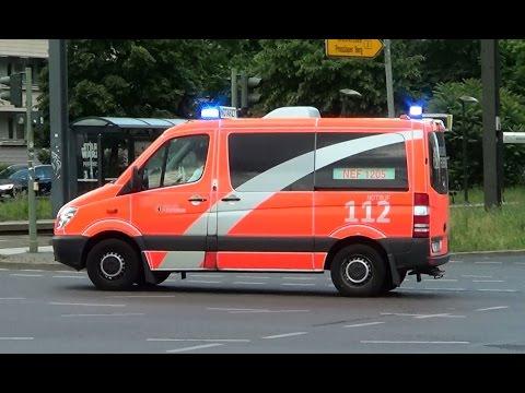 Berlin BF NEF 1205 | Berlin fire department emergency doctor car 1205 responding [GER | 9.6.2016]
