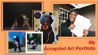 Accepted art portfolio