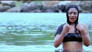 Serial actress Deepika das hot navel show