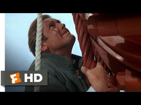 A View to a Kill (9/10) Movie CLIP - Hanging on for Dear Life (1985) HD
