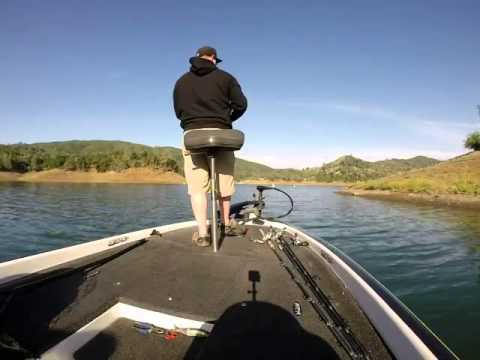 Spring bass fishing on lake berryessa with the big s waver for Lake berryessa fishing
