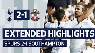 EXTENDED HIGHLIGHTS | Tottenham Hotspur 2-1 Southampton