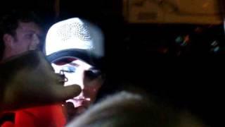 ADAM LAMBERT San DIego Meet & Greet Fans Break Barricade 7/19/09