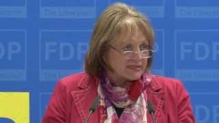 Bundesjustizministerin zum Thema Datensicherheit
