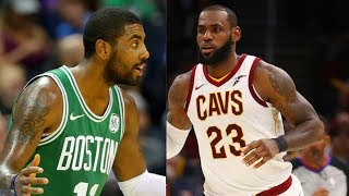 LeBron James vs Kyrie Irving! Kyrie Irving Booed in Return to Cleveland! Celtics vs Cavaliers