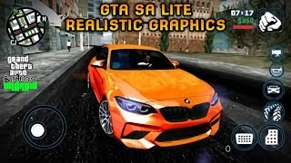 GRAFIKNYA GILA COY!! GTA SA LITE REALISTIC GRAPHICS MOD | Full Cheat & Mod | Support All Os Android