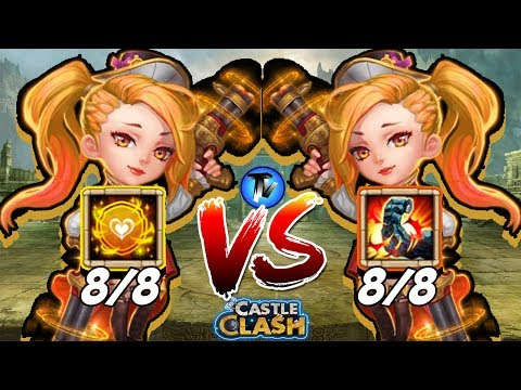 Castle Clash - Best/Perfect Talent For GunSlinger !!!