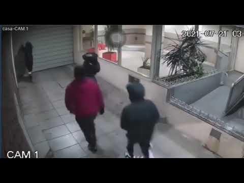 Robo piraña: ladrones se meten en la cochera de un edificio para llevarse una bicicleta
