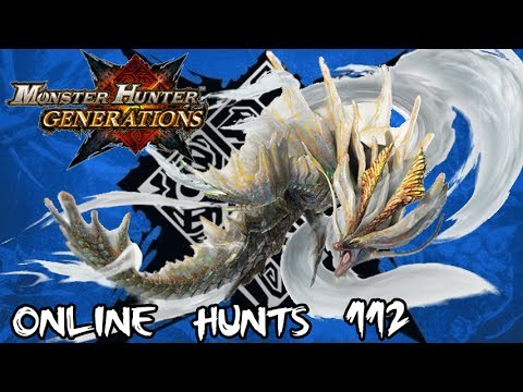 Monster Hunter Generations - Online Hunts 112: AAAAAAAAmatsu's Calamity