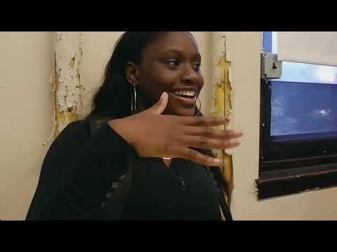 A Chat with Students at the Academy at Palumbo with Siani Leigh