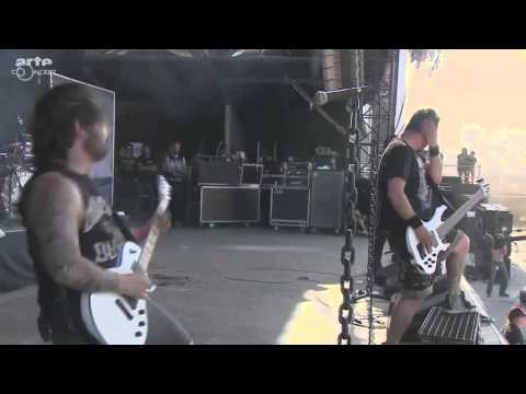 Dagoba hellfest 2014 it s all about time huge wall of death