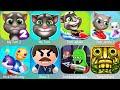 My Talking Tom 2,,Angela,Candy Run,Pool,Gold Run,Kick The Buddy,Buddy Man,Tsunami,PvZ,PvZ 2,Kitten