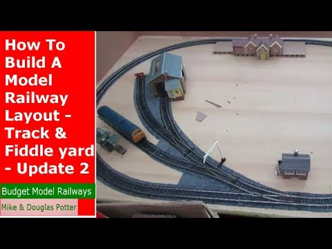 How To Build A Model Railway Layout – Track & Fiddle Yard – Homewood Valley Railway 2