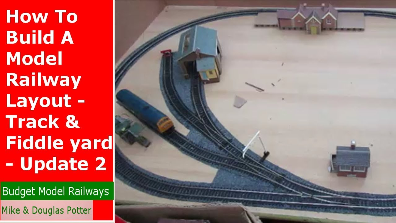 model train diagrams how to build a    model    railway layout track  amp  fiddle yard  how to build a    model    railway layout track  amp  fiddle yard