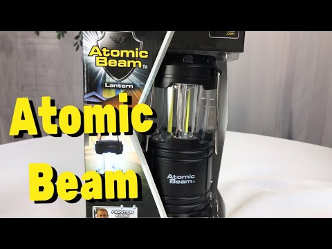"Review and opinion on the ""As Seen on TV"" Atomic Beam Lantern"